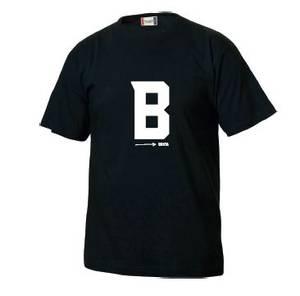 Bilde av T-skjorte: sort - Bukta B
