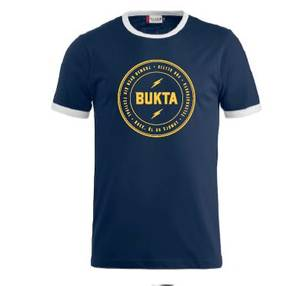 Bilde av T-skjorte: marineblå/hvit -
